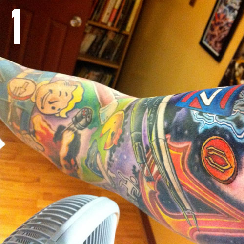 top 5 video game tattoos sprite stitch. Black Bedroom Furniture Sets. Home Design Ideas