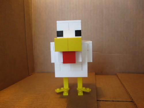 Lego Minecraft Chicken Guide | Sprite Stitch
