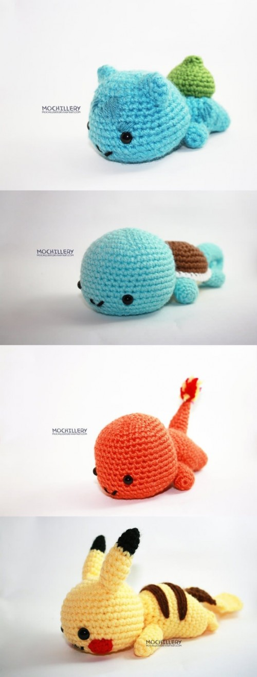 Super Cute Pokemon Amigurumi Sprite Stitch