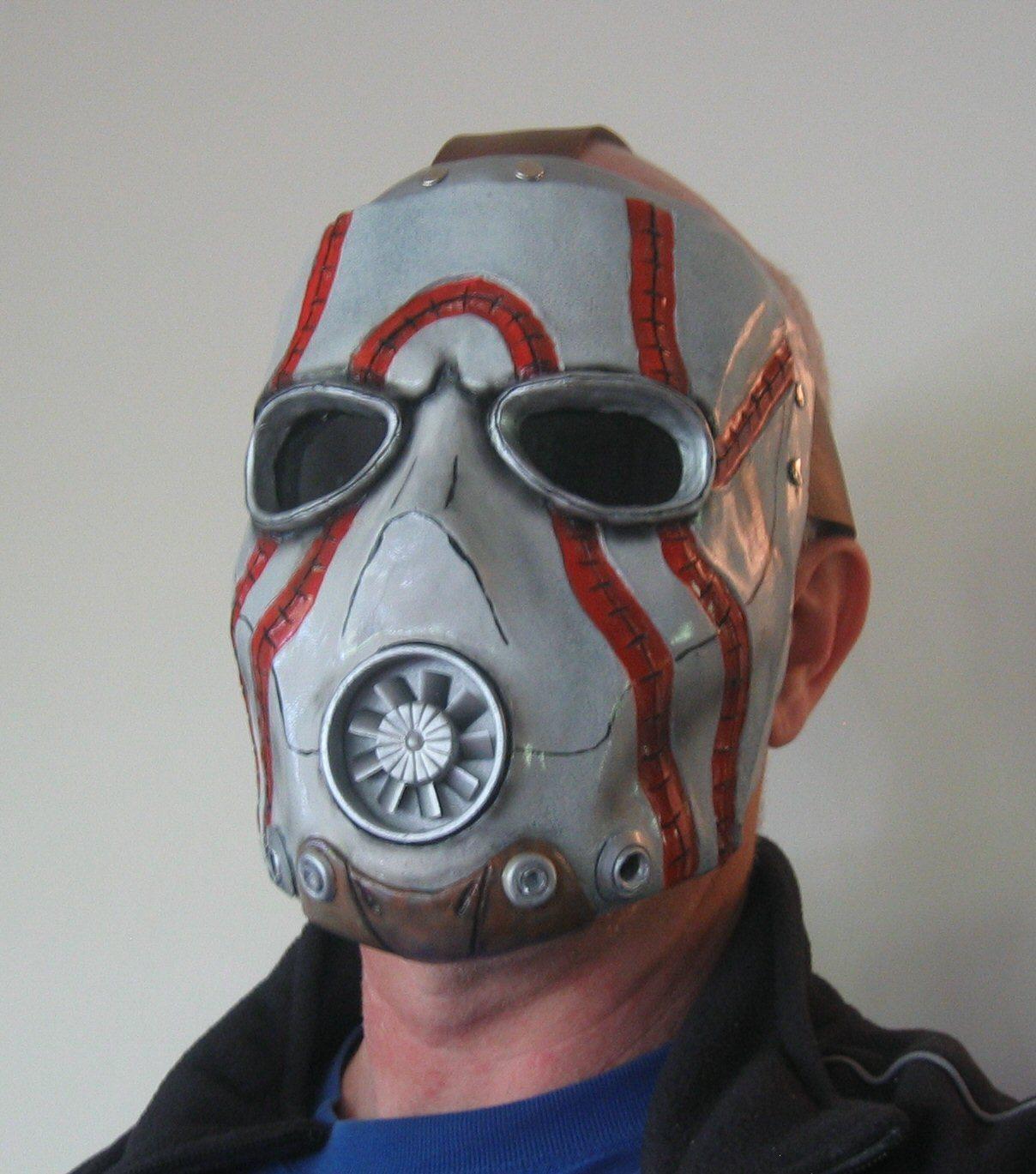 Как сделать маску психа