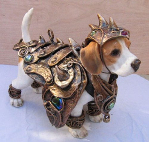 Dog Cosplay Armor