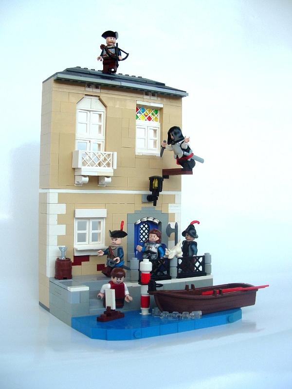 Lego Assassins Creed Diorama Sprite Stitch