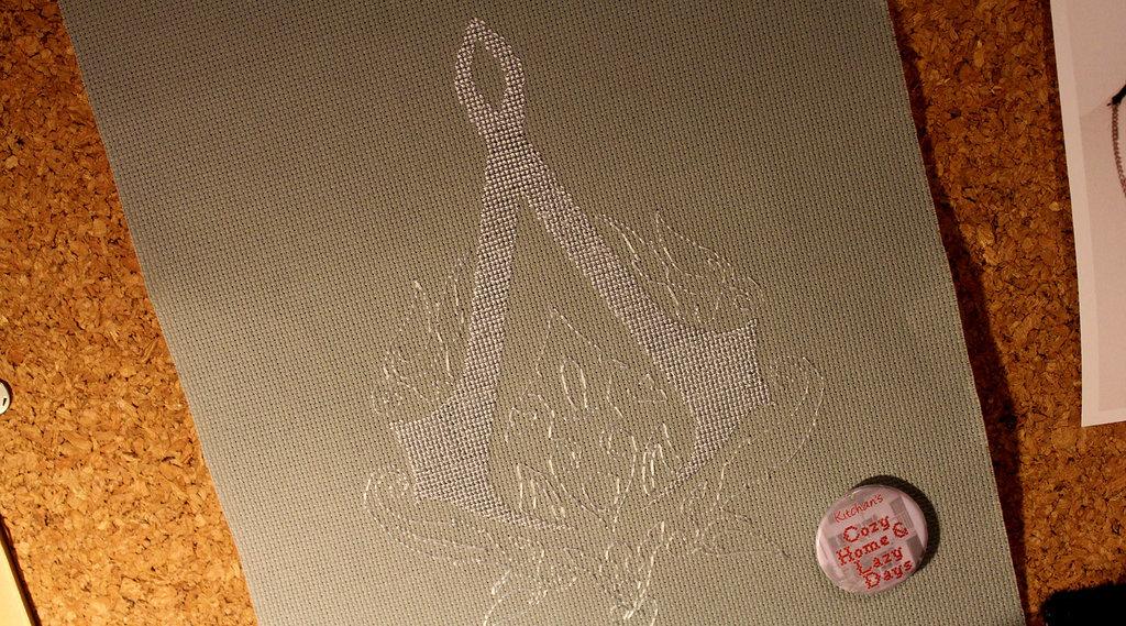 Assassin 39 s creed ottoman logo cross stitch sprite stitch - Ottoman empire assassins creed ...