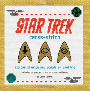 Star Trek Cross Stitch Book