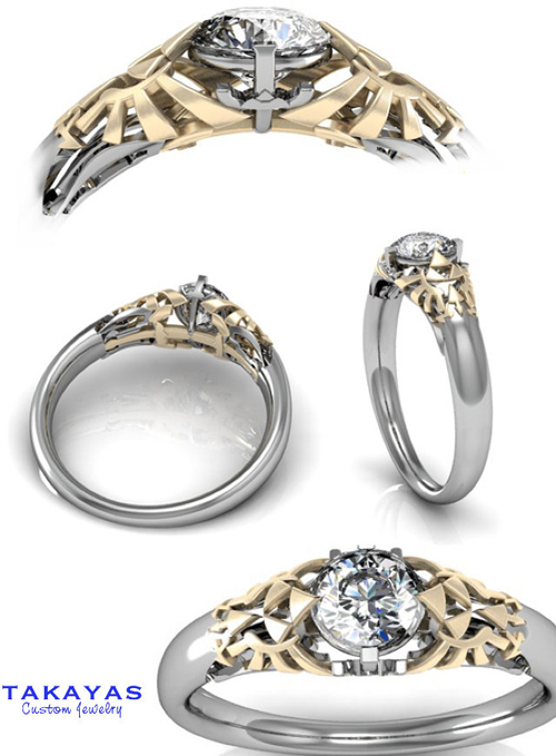 Geeky Engagement Rings Uk