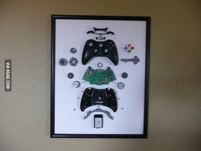 Xbox controller art sprite stitch