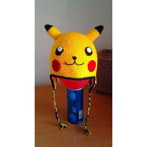 Free Crochet Pattern Pokemon Hat : 3 Crocheted Hats from Pinterest Sprite Stitch