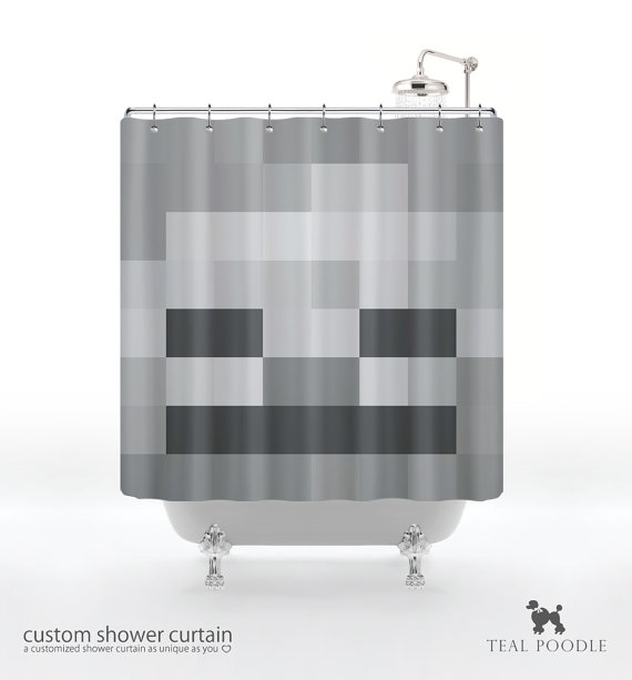 Minecraft Bathroom Decor