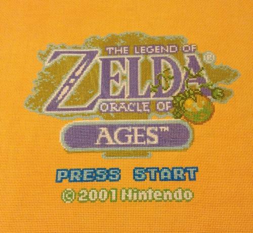 Zelda | Sprite Stitch - Part 2