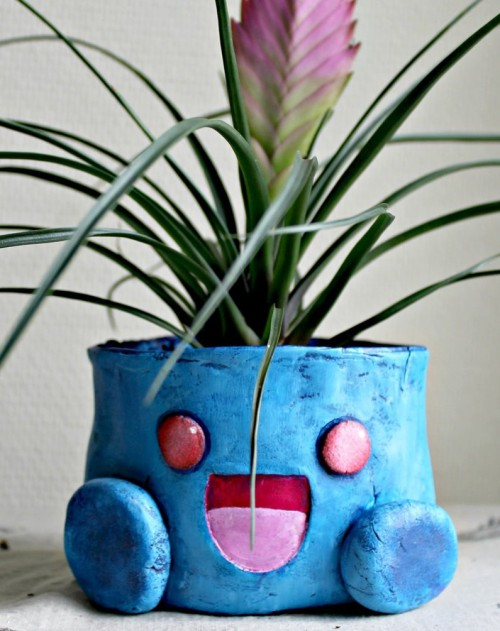 oddish_flower_pot_by_machi_ramen-d7vx3nt