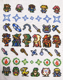 final fantasy V band sampler