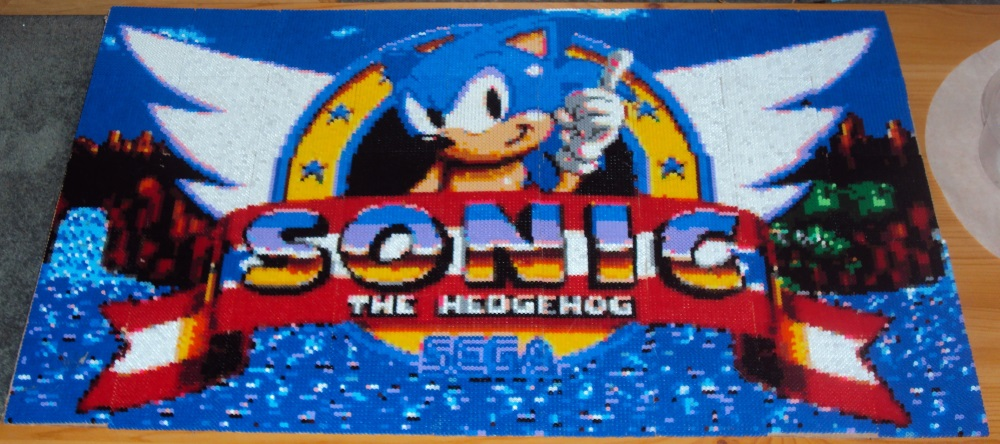 Sonic Title by kidster