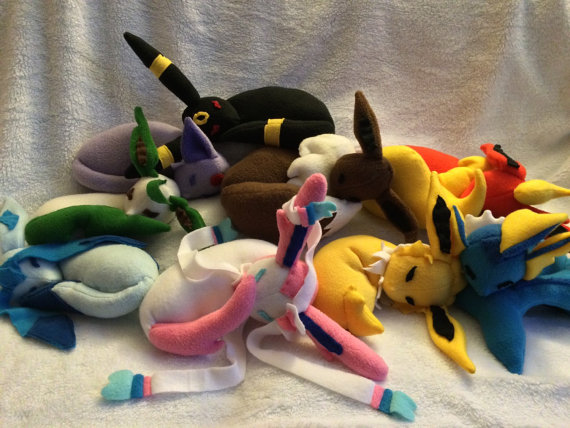 sleepy eeveelutions
