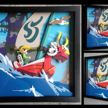Video Game Shadowboxes