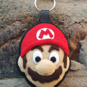 Cute Mario Felt Ornaments
