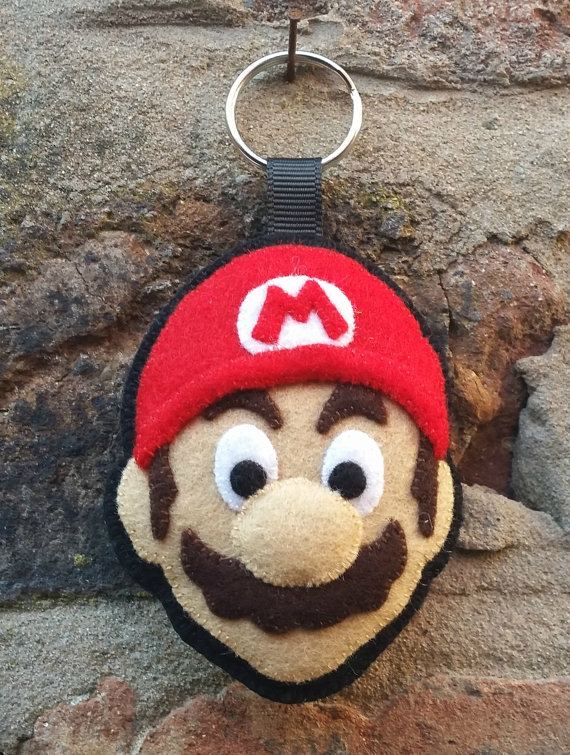 Mario on christmas tree themes