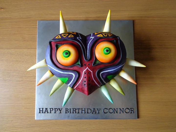 Majora's Mask by The Cake Nook