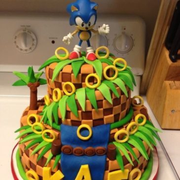 Video Game Birthday Cakes!