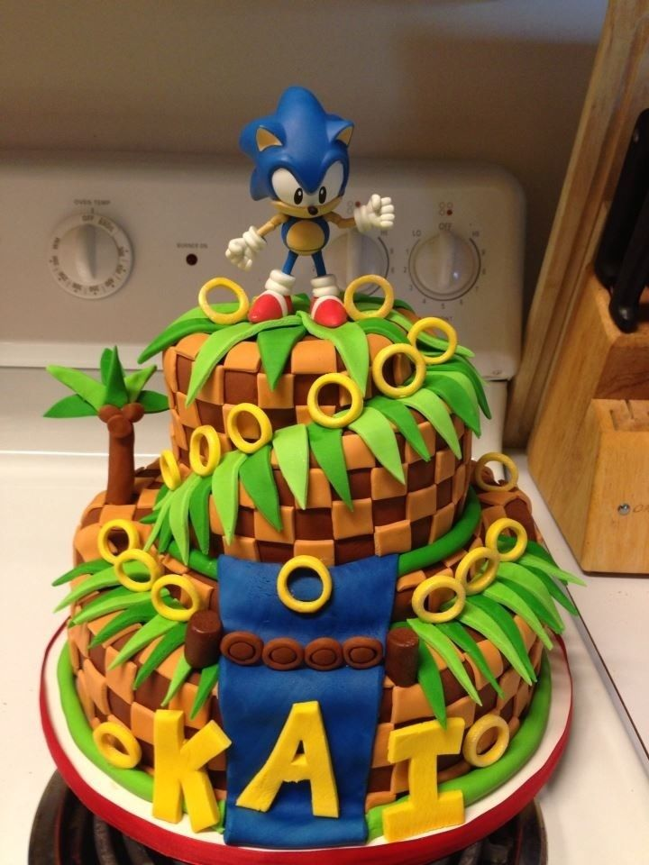 Video Game Birthday Cakes Sprite Stitch
