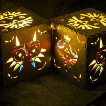 Legend of Zelda Inspired Lamp