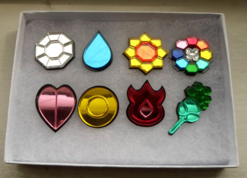 Kanto Badge Set by Miyuka