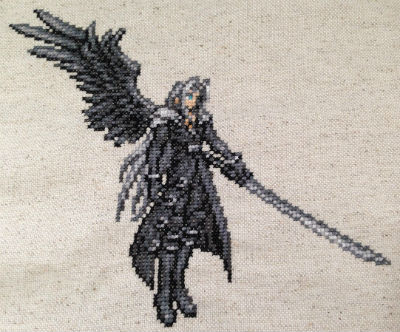 Final Fantasy: Record Keeper Cross Stitched Sprites