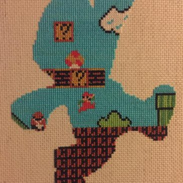 Cool Stitching Shows What's Really Inside Mario!