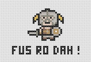 fusrodahcrossstitch