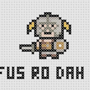 Skyrim Cross Stitch Roundup