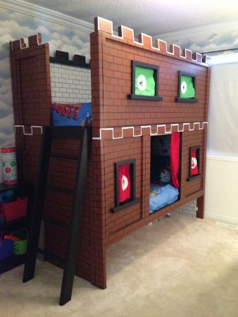 Mario Castle Bunk Bed