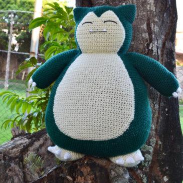 Huge Snorlax Amigurumi!