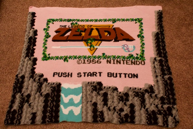 Zelda Crochet Blanket by rufusdampfer