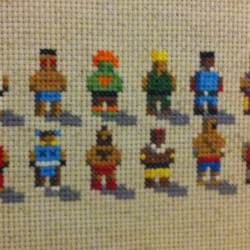 Street Fighter II Stitches