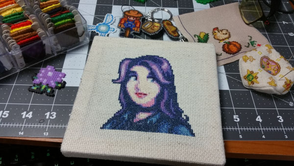Stardew Valley Cross Stitch