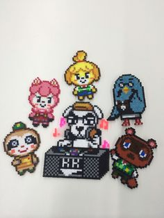 Animal Crossing Perlers