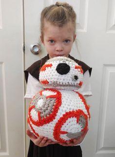 Jumbo BB-8 Crochet