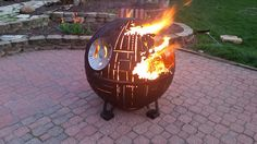 The Ultimate Death Star Fire Pit