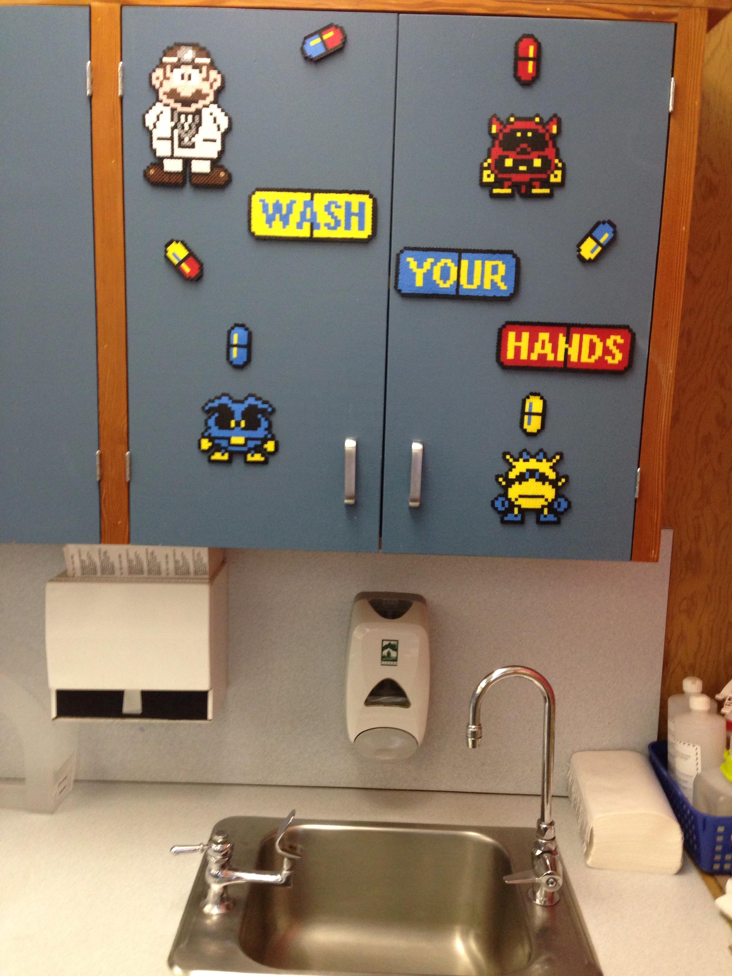 Dr Mario classroom by S Sharda