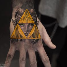 Zelda tattoo by Niki Norberg