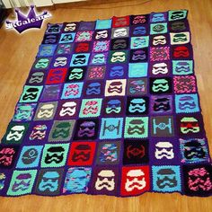 Pop Art Storm Trooper Quilt