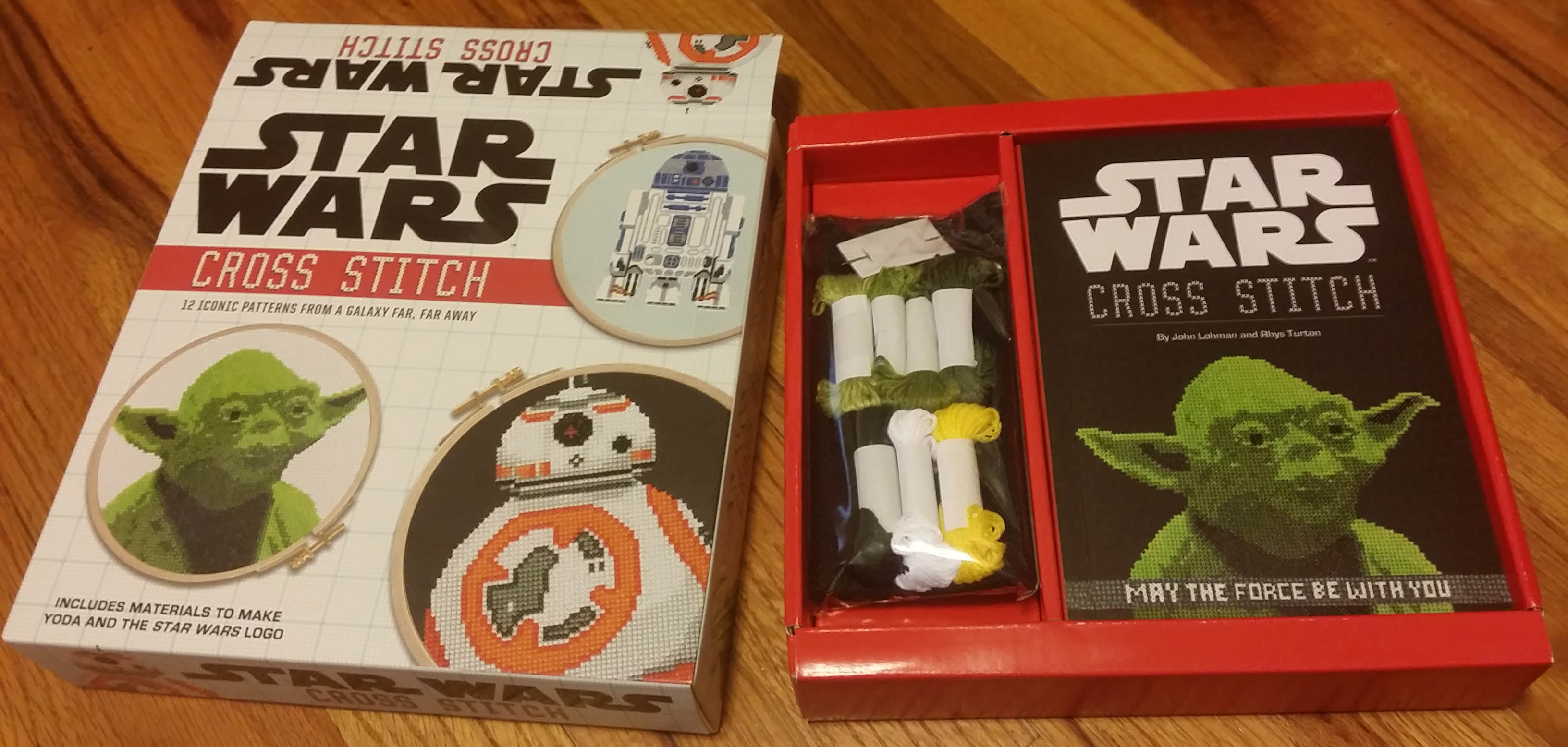 Star Wars Cross Stitch Kit Sprite Stitch